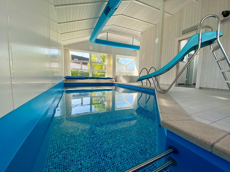 Bau eines privaten Schwimmbad